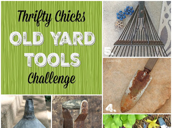 Upcycled Yard Tools Wreath