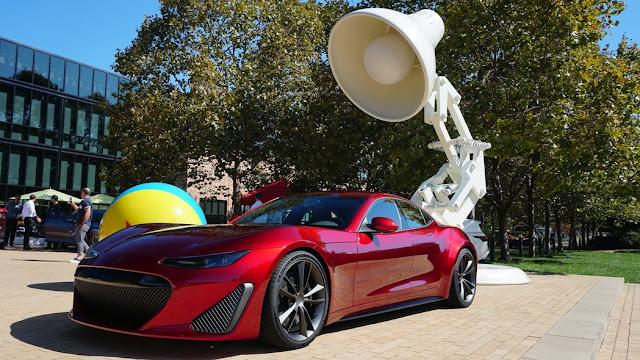 Drako Electric Sportscar Pixar MotoExpo