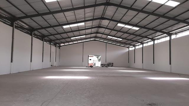 gudang baru di kawasan industri Jatake
