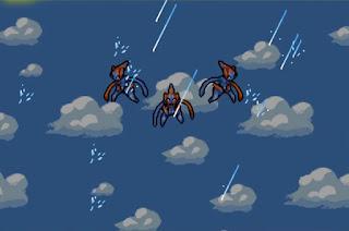 Pokemon Heroes para GBA Evento Inicial Pokemon Legendario Deoxys