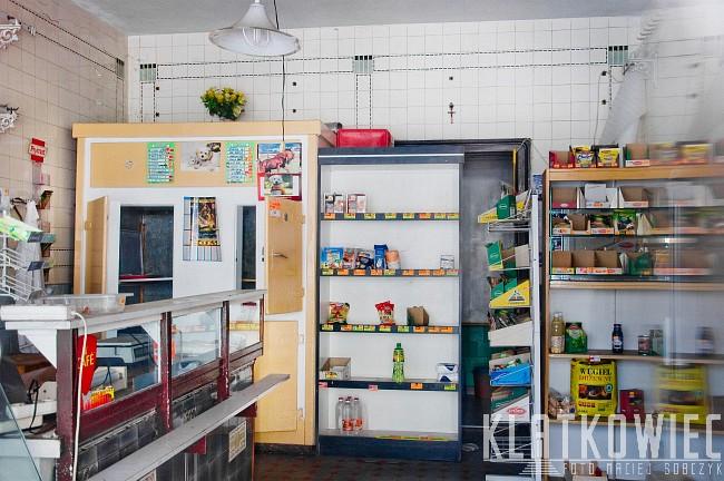 Bierutów: przedwojenny sklep mięsny