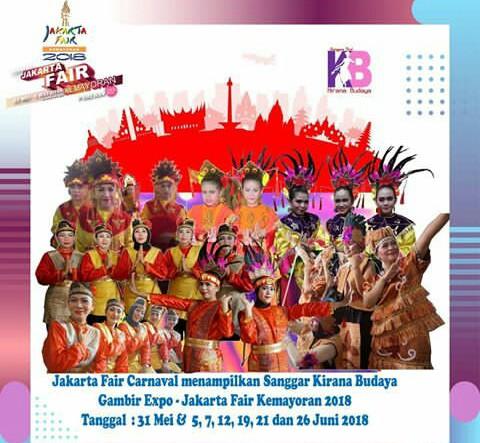 kesenian budaya di ajang jakarta fair