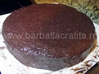 Tort Dobos asamblare reteta - imbracat in crema si pe lateral