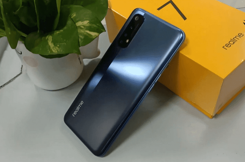 Live images of realme 7 leaks, to load with MediaTek Helio G95 gaming SoC