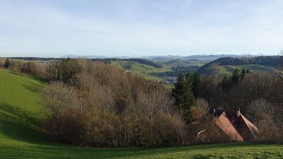 Blick vom Rohrbachberg Richtung Huttwil