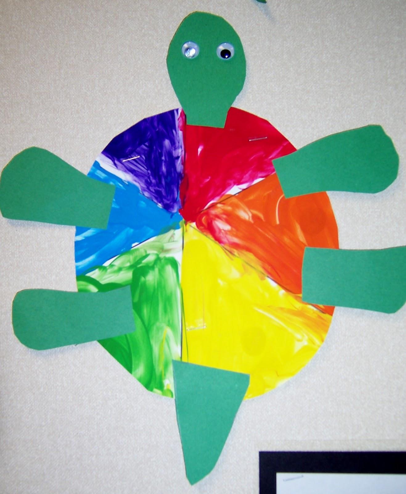 Art Amp Ideas That Grow Kindergarten Painted Turtles