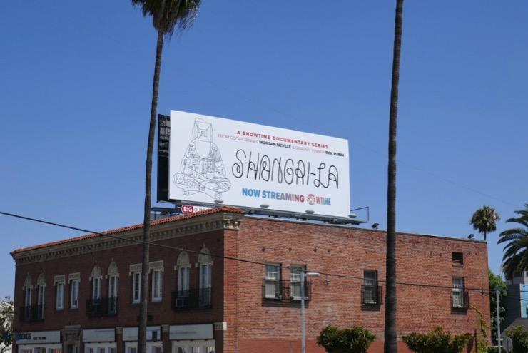 Shangri-La series launch billboard