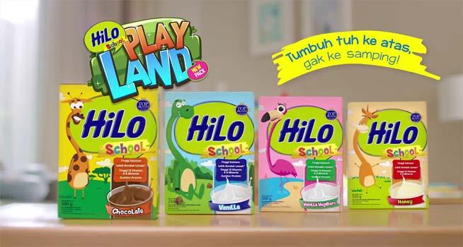 susu hilo school untuk usia berapa