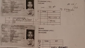Nurdin warga Pondok Aren usulkan program PTSL tahun 2017, sampai saat ini belum menerima sertipikatnya