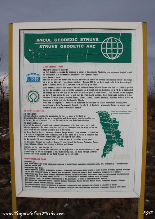 El arco geodésico de Struve