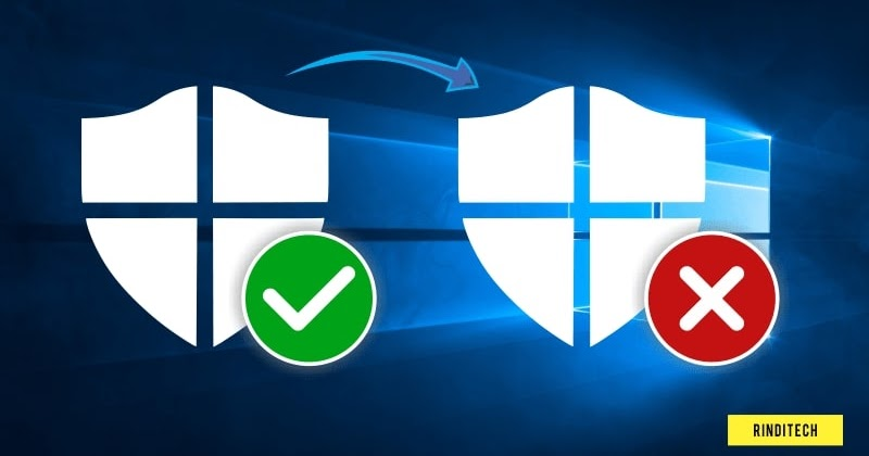 Cara Nonaktifkan Antivirus di Windows 10 | Rindi Tech