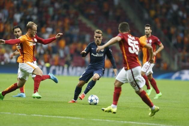 Atlético de Madrid estreia com vitória na Champions League