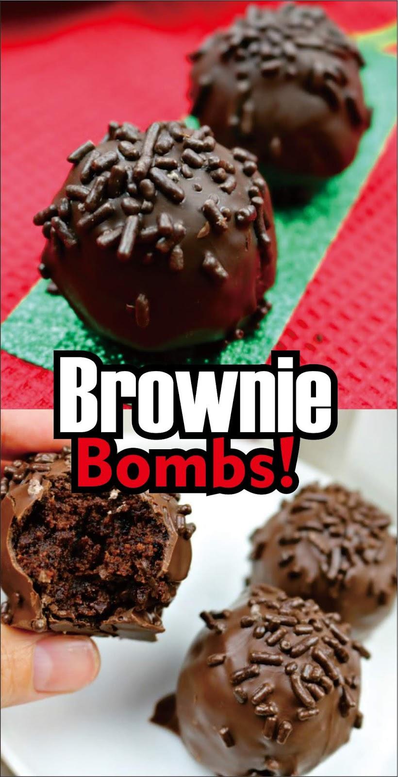 Brownie Bombs Christmas Cookies Easy Kraft Recipes