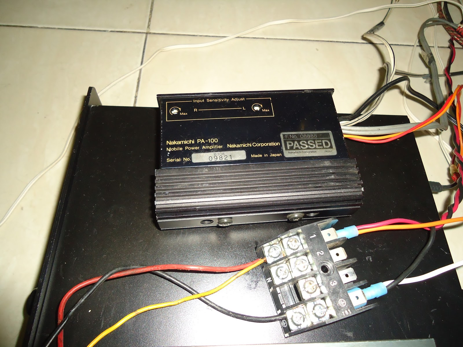 The Orronoco Audio Diy Simple Home Theater System Part 2 Final Wiring Supplies Channel Are Actually My Testing Speakers At Working Desk They From Local Brand Polytron Come A Mini
