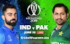 India vs Pakistan CWC 2019