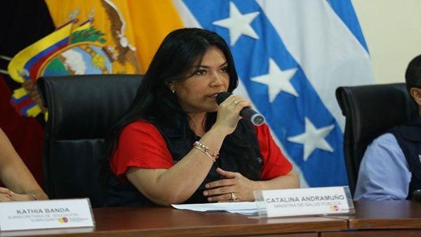 Ministra de Salud de Ecuador confirma cinco nuevos casos de Coronavirus
