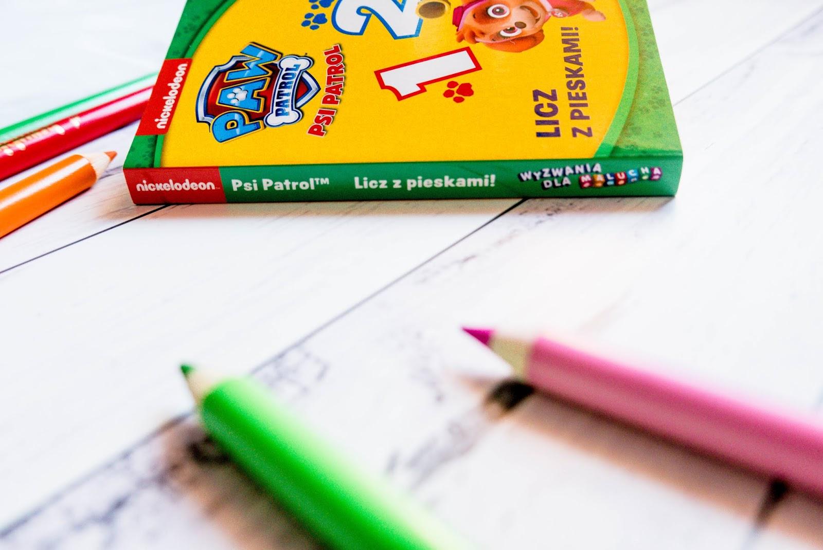 Psi Patrol książeczka dla najmłodszych