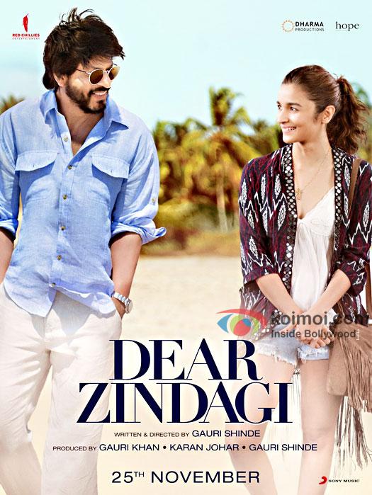 Dear Zindagi 2016 Hindi BRRip 480p 400mb