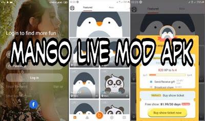 donwload mango live mod apk 2019