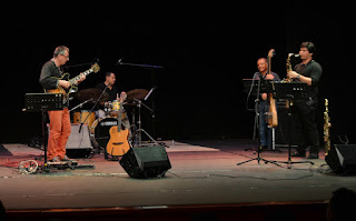El Latin Jazz Ensamble de Kent Biswell en el Teatro Cajamag de Santa Marta - Colombia / stereojazz