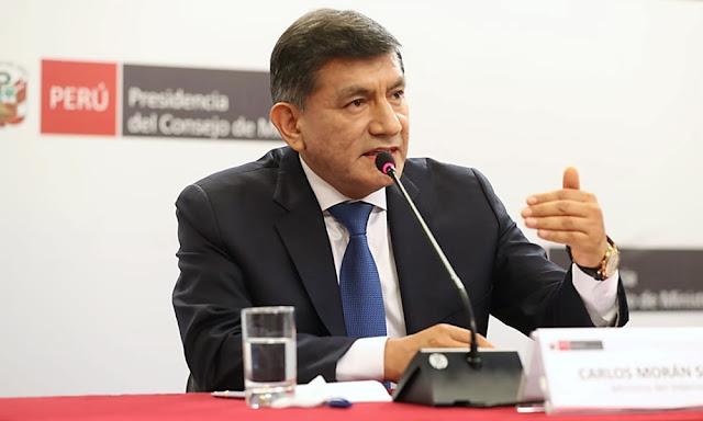 Ministro del Interior, Carlos Morán