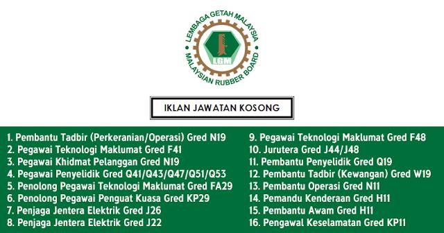 lembaga getah malaysia jobsmalaysia