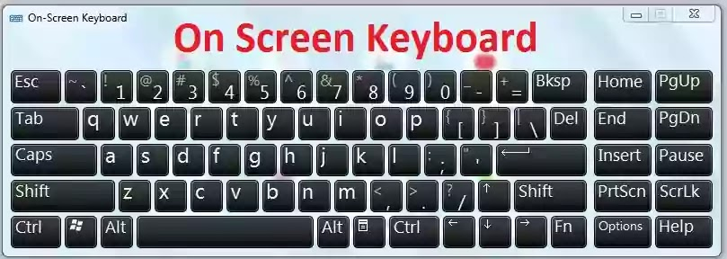 Computer Tips And Tricks In Hindi On Screen Keyboard