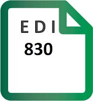 EDI 830 Planning Schedule transaction set