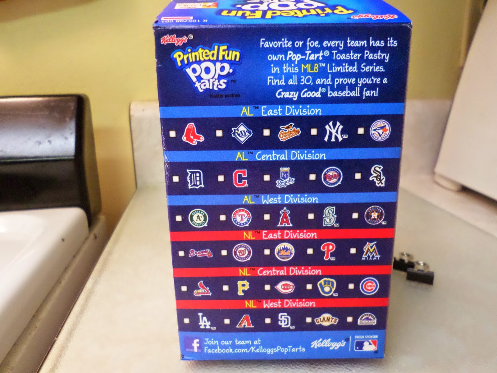 MLB Pop-Tarts