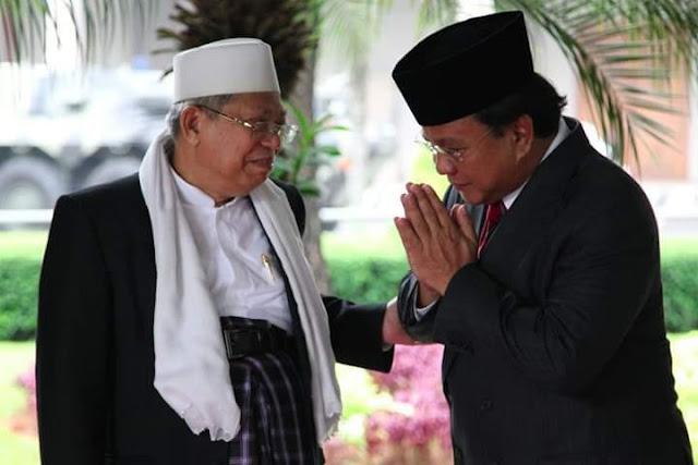 Maruf Amin Akan Diganti Prabowo?