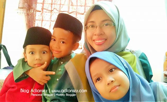 Photoshoot Keluarga Hj. Md. Hanafiah | Kecoh !