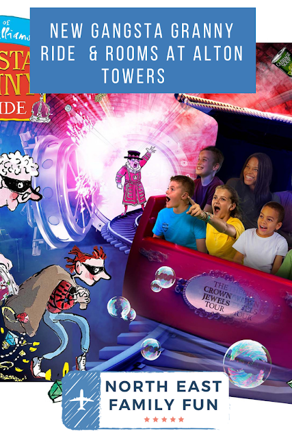 NEW Gangsta Granny Ride  & Rooms at Alton Towers