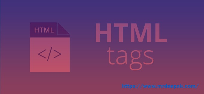 Introduction to HTML Tags