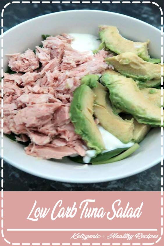 Video Recipe of Keto Tuna Avocado Recipe Inspiration Low Carb Tuna Salad