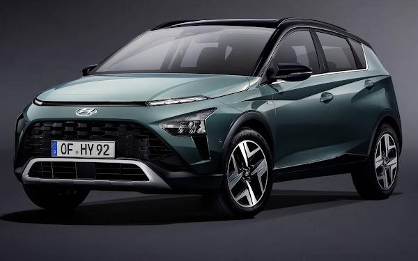 Novo Hyundai Bayon 2021 chega para enfrentar o T-Cross - Europa