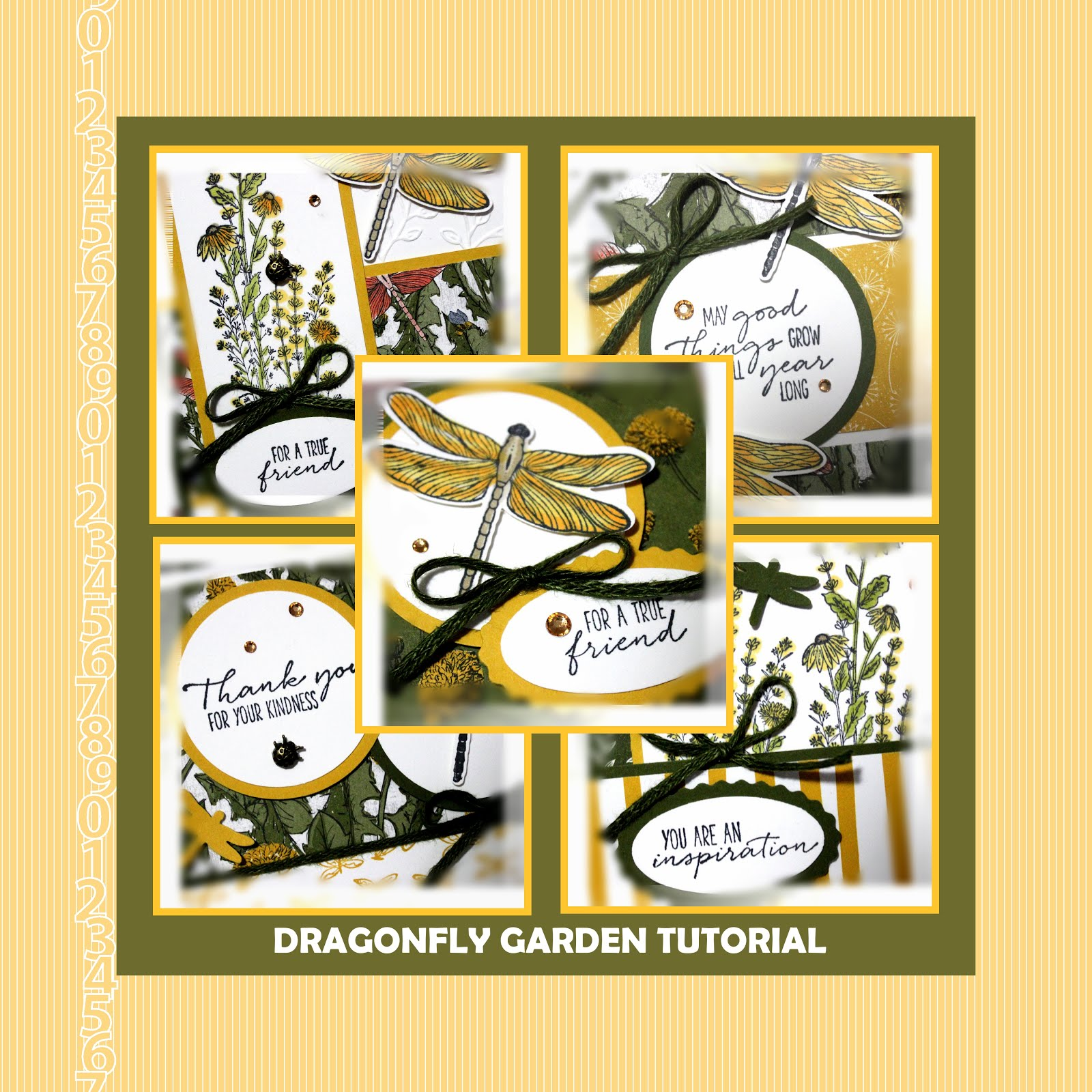 February 2021 Dragonfly Garden Tutorial