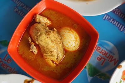 Kari Ayam dan telur Cane Warkop Ci Meng