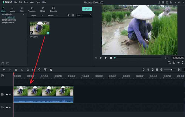 Cara Stabilizer Video di Filmora 9