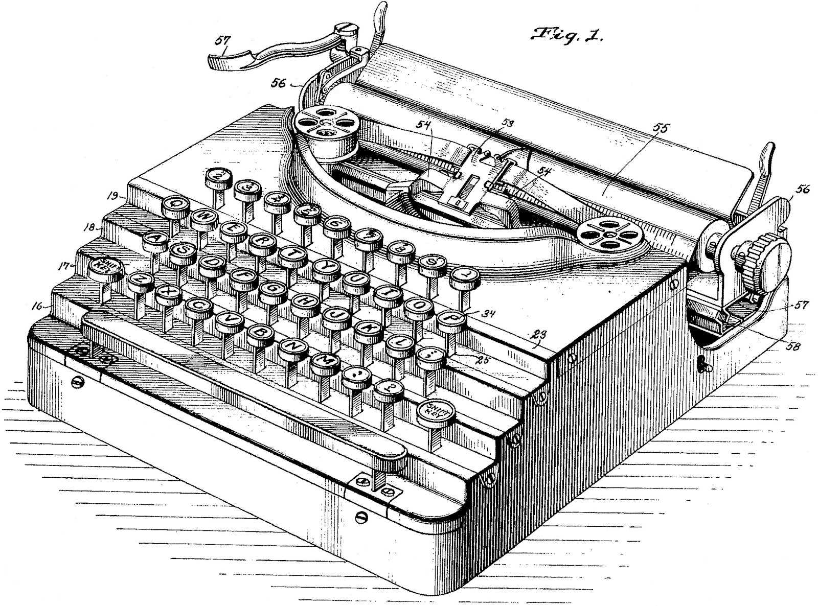 Oz Typewriter On This Day In Typewriter History V For Victor Or G For Gump The Garbell Portables