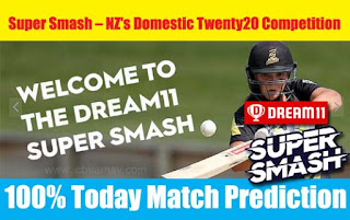 Who will win Today Super Smash T20, 2nd Match OTG vs AUK - Cricfrog
