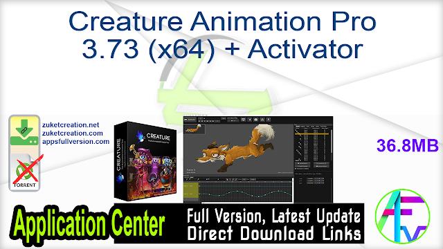 Creature Animation Pro 3.73 (x64) + Activator