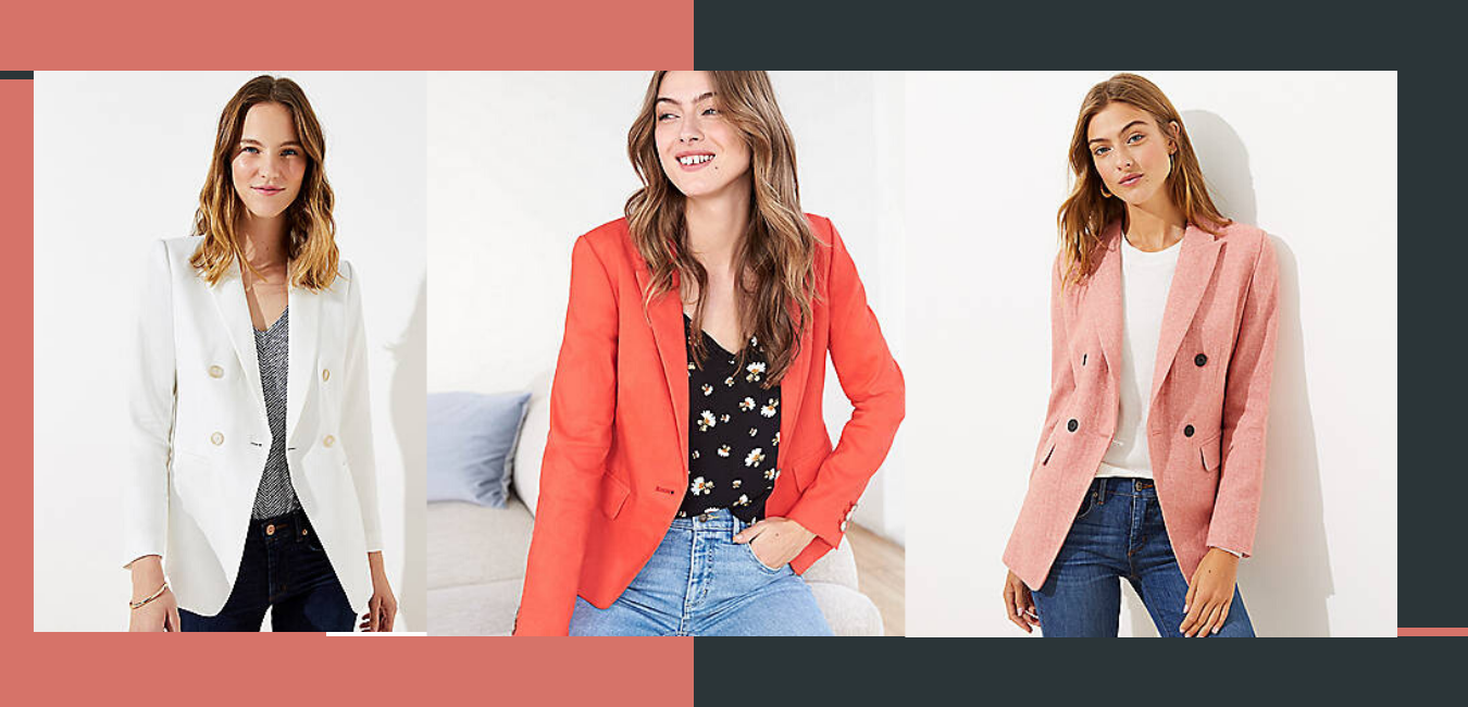 blazer to wear at the office. office work outfits ideas.