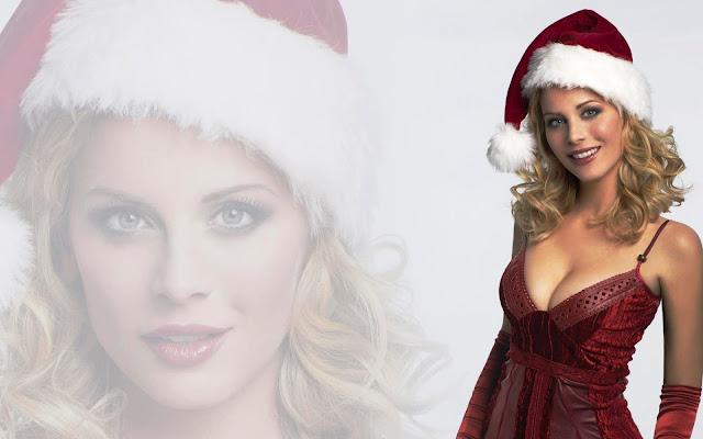 most-popular-sexy-christmas-woman-wallpaper-hot