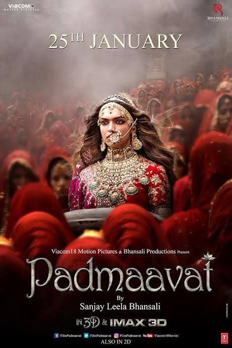 Padmaavat 2018 Movie 980MB