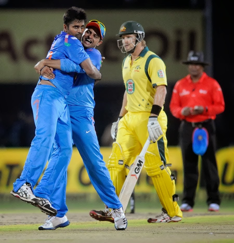 India vs Australia (Ind vs Aus) 4th ODI Match Live Score 23rd October 2013 - 3JiG