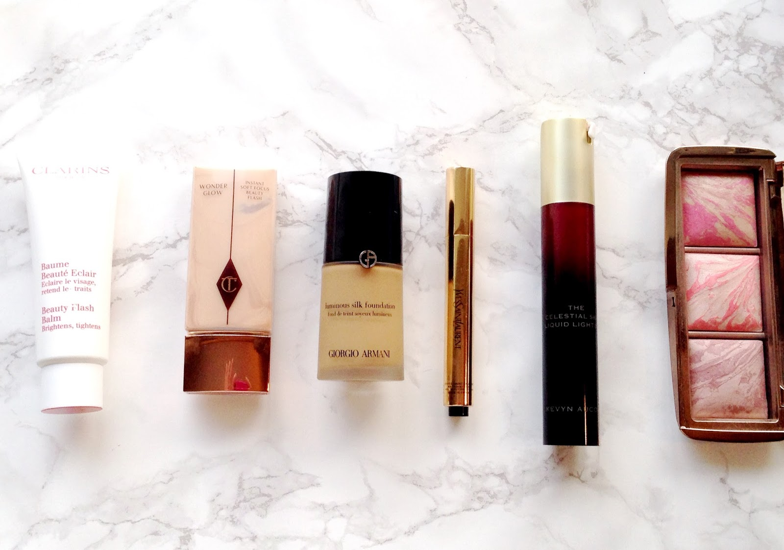 How to fake glowing, radiant skin with Clarins, Kevyn Aucoin
