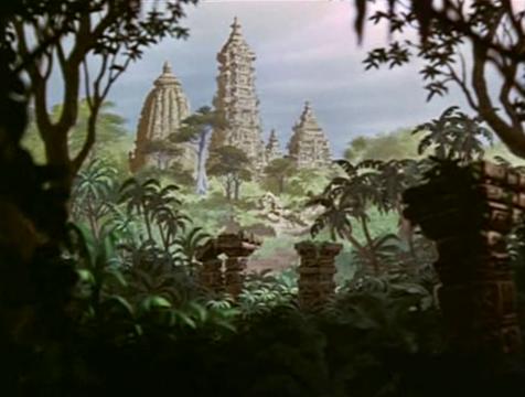 Las ruinas en las que viven los monos de El libro de la selva - Cine de Escritor