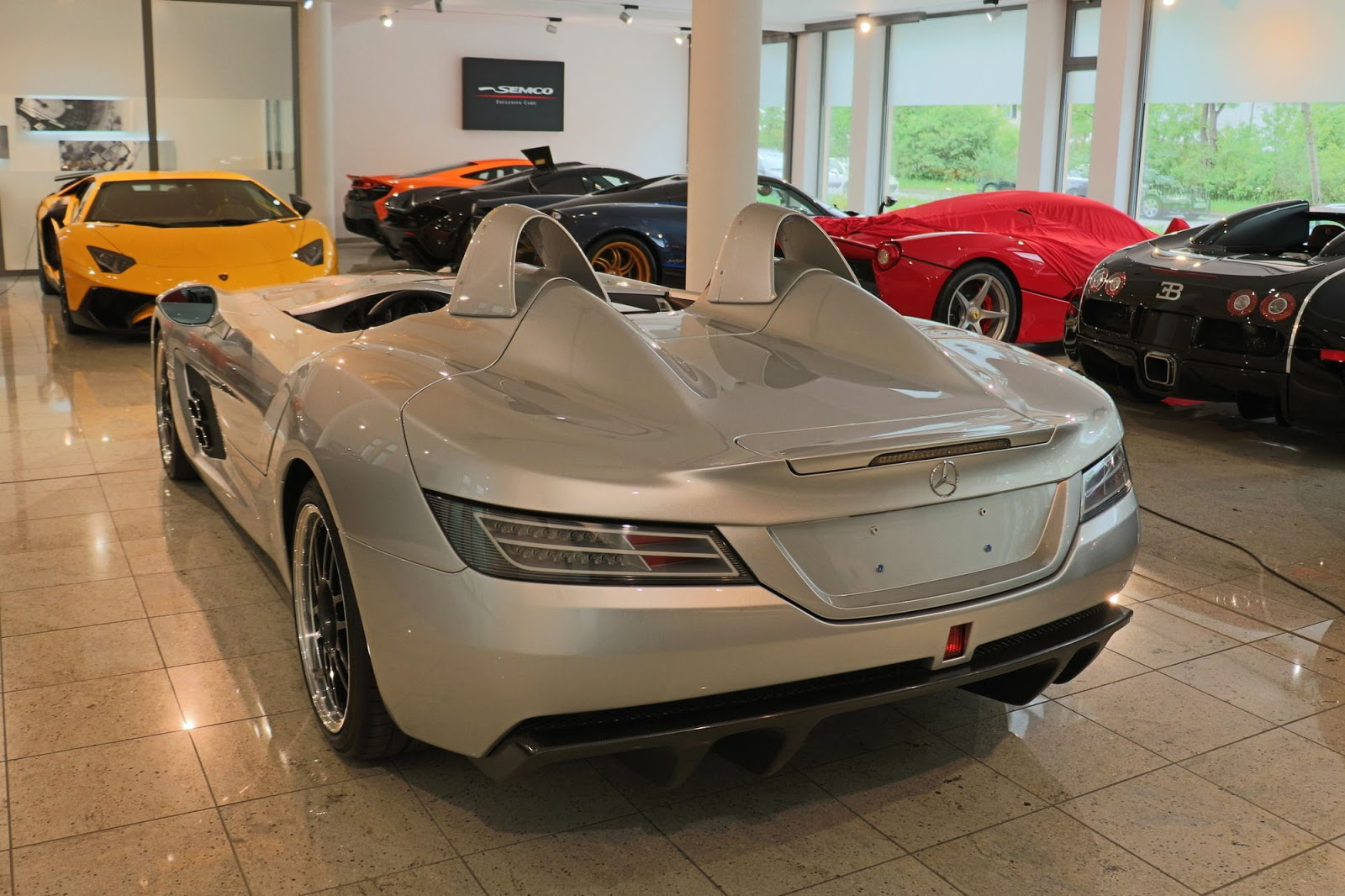 Mercedes benz slr stirling moss for sale in germany for Mercedes benz stirling moss