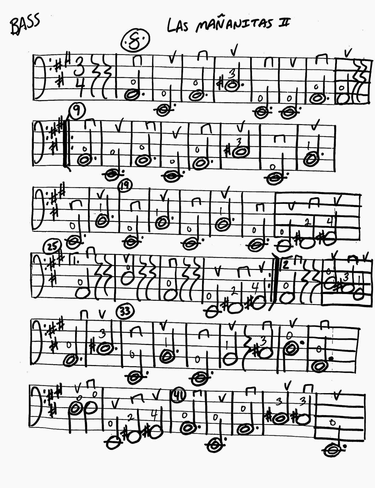 Miss Jacobson S Music Las Mananitas Ii Worksheets