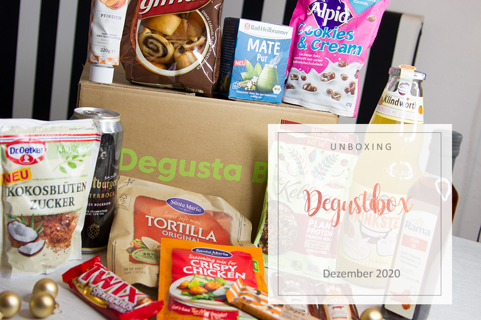 Degusta Box - Dezember 2020 - unboxing
